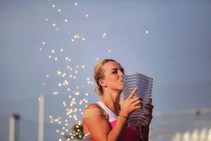 Anastasia Pavlyuchenkova a remporté les Internationaux de Strasbourg en 2018