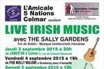 irish live music 2015