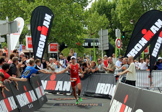 Ironman 70.3 Pays d'Aix près de Marseille