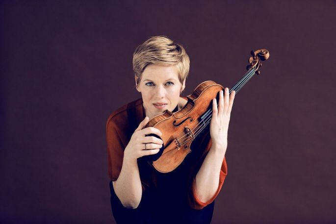 Isabelle Faust, violoniste
