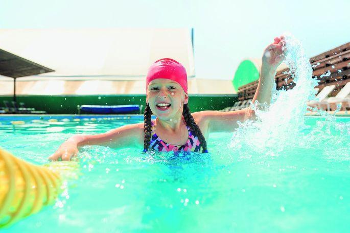 J'apprends à nager au MON