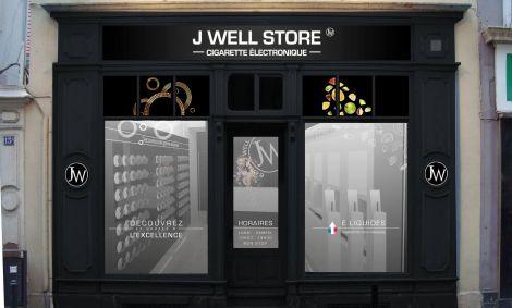 La boutique J Well, magasin de cigarette électronique à Mulhouse