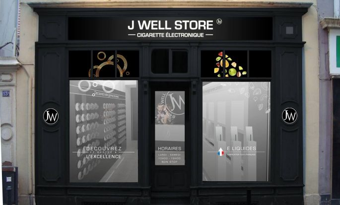 La boutique J Well, magasin de cigarette électronique à Mulhouse