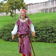 Jean-Luc Heitz, créateur de spectacles médiévaux