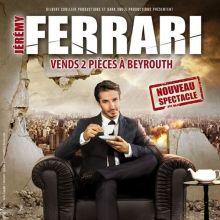 Jérémy Ferrari : Vends deux pièces à Beyrouth