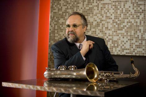 Joe Lovano et son saxophone