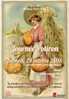 Journée des Potirons à Mulhouse