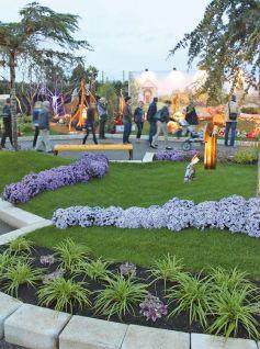Les jolis jardins présentés à Folie\'Flore