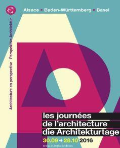 Journées de l\'Architecture 2016