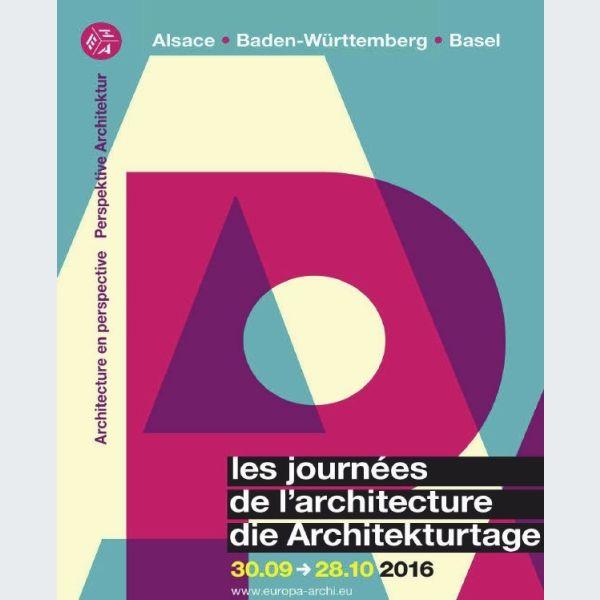 Journ es de l 39 architecture 2016 architecture en perspective animation - Journee de l architecture ...