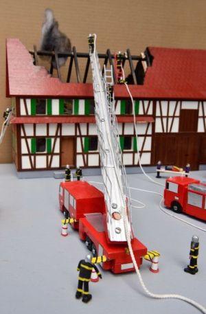En 2016, on découvrait des pompiers modèles réduits à la Nef des Jouets