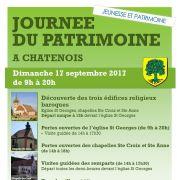 Journées du Patrimoine 2017 à Chatenois