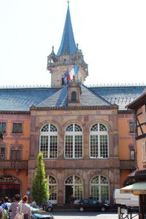L\'Hôtel de Ville d\'Obernai