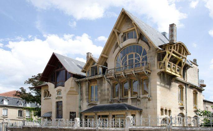 La Villa Majorelle à Nancy, un des fleurons de l\'école de Nancy