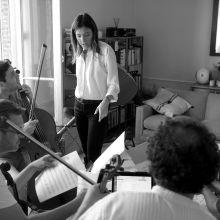 Keren Ann & Quatuor Debussy