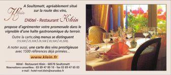 Hôtel Restaurant Klein