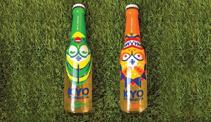 Kyo Kombucha, un thé pétillant et fermenté