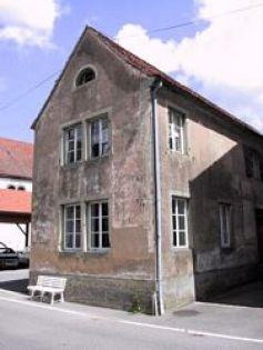 L\'ancienne école juive de Diemenringen (1862)