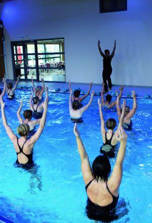 L\'aquagym, tendance lourde des cours collectifs en 2012