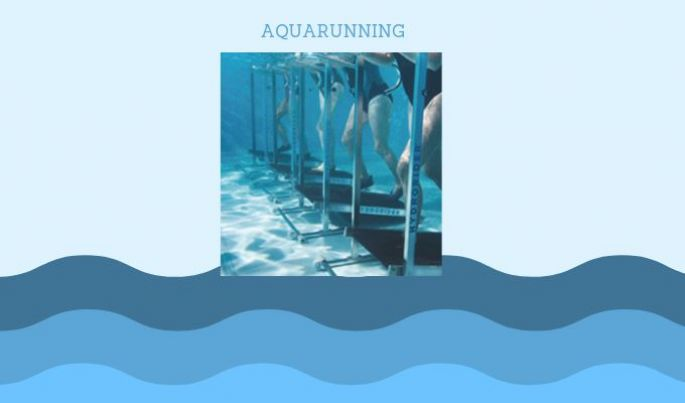 L'aquarunning, un tapis dans l'eau