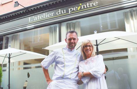 Le chef Loïc Lefebvre et sa compagne Caroline Cordier