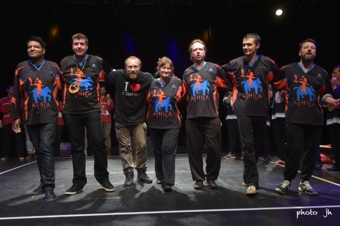 La troupe de l\'Athila, pour la saison 2017-2018