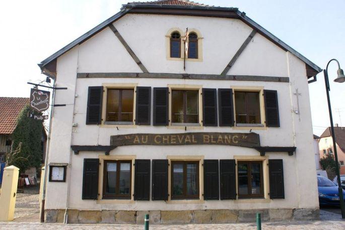L\'Auberge du Cheval Blanc à Brunstatt