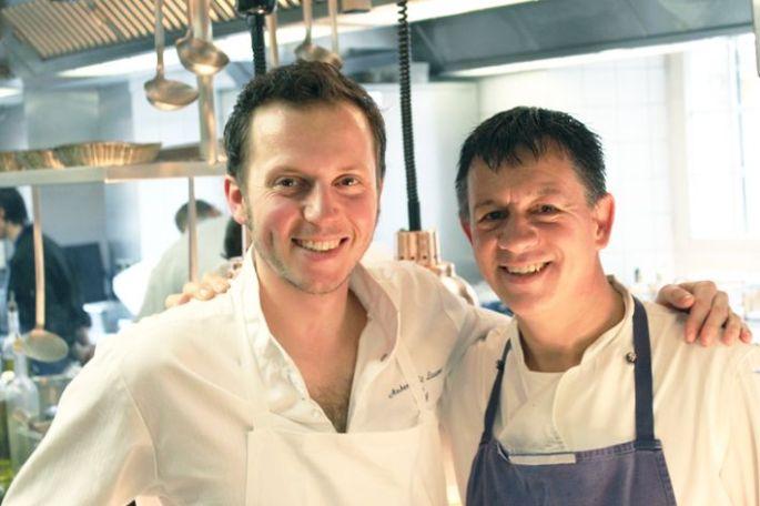 Laurent Arbeit et son second, Régis