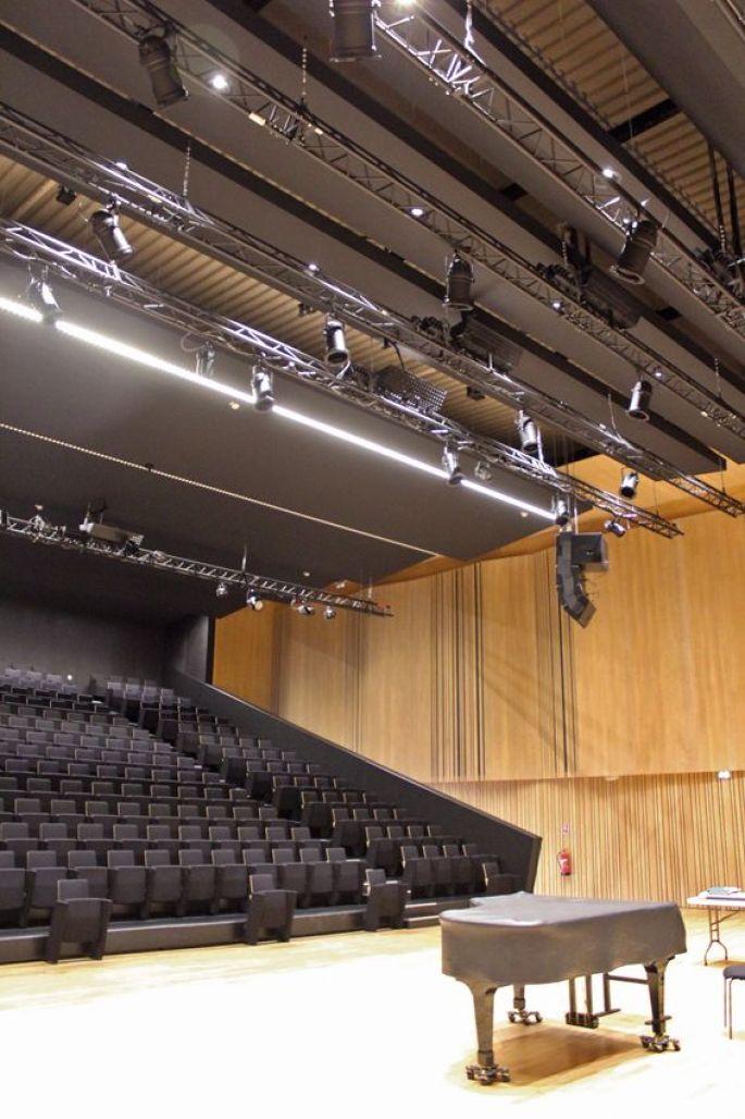 L'auditorium de 325 places