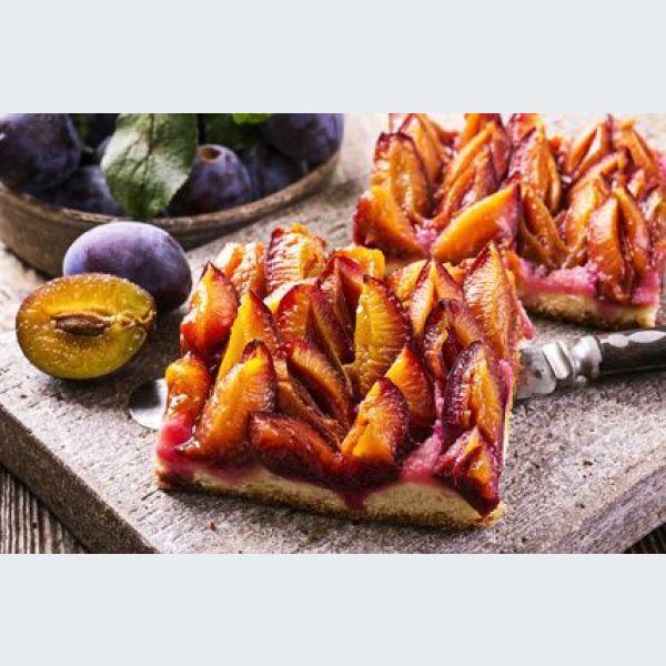 l authentique tarte aux quetsches alsacienne