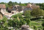 L\'Ecomusée d\'Alsace se trouve à Ungersheim, à 15km de Mulhouse