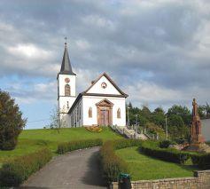 L\'église catholique Saint Maurice de Seppois-le-Bas