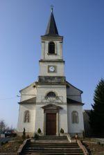 L\'église Saint-Augustin de Spechbach-le-Bas dans le Sundgau