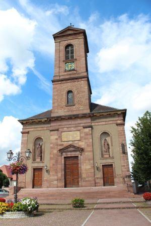 L\'Eglise Saint André - Issenheim
