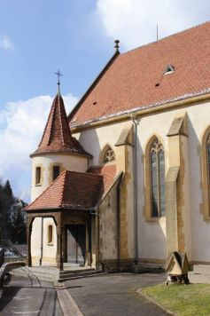 L\'Eglise Saint-Bernard de Menthon - Ferrette