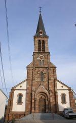 L\'Eglise Saint-Maurice de Pfastatt