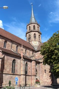 L\'Eglise Saint Maurice - Soultz