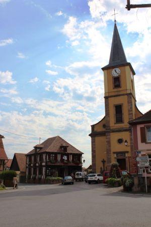 L\'Eglise Saint-Sigismond de Matzenheim