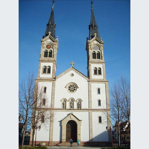 eglise catholique Illkirch-Graffenstaden