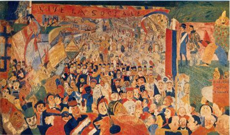 L'entrée du Christ à Bruxelles en 1889 (James Ensor)