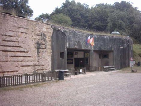 L\'entrée principale du Four à Chaux