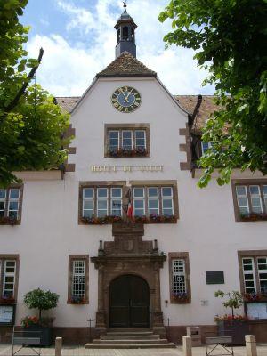 L\'Hôtel de Ville de Bouxwiller