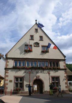L\'hôtel de ville de Munster