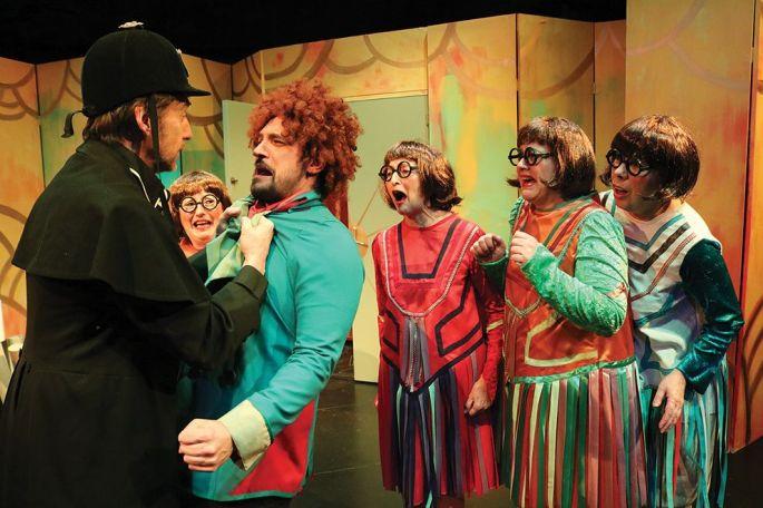 Une comédie haute en couleur comme à l\'habitude d\'en faire Jean-Marie Meshaka