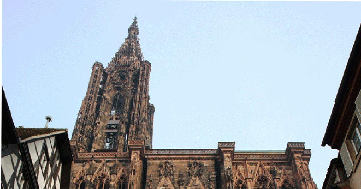Cath drale notre dame de strasbourg patrimoine historique for Comfaience de strasbourg