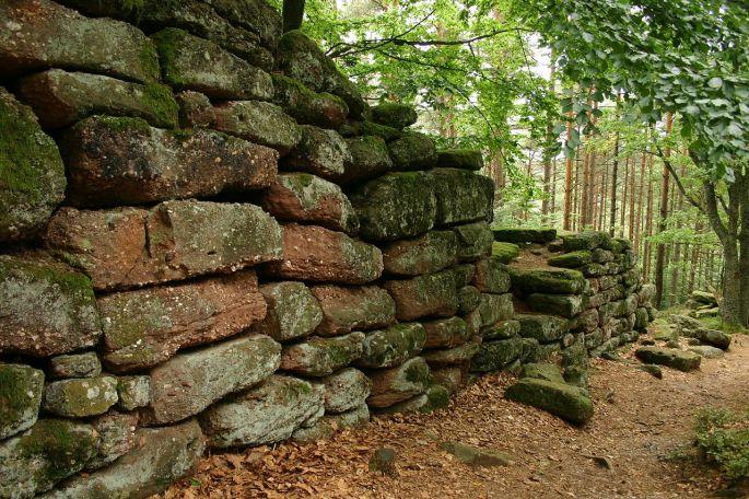 L'indéchiffrable mur Païen