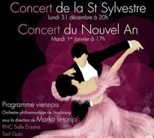 L\'Orchestre Philharmonique de Strasbourg donne un concert pour fêter la fin de l\'année et bien entamer la suivante