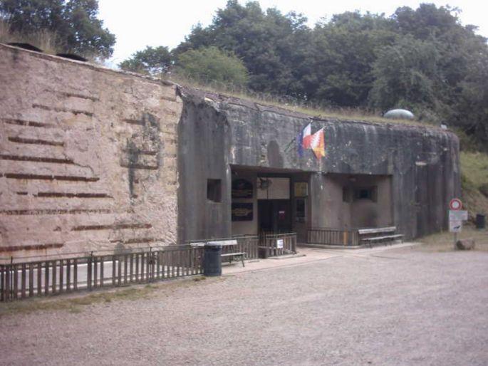 L\'ouvrage du Four à Chaux est un des importants points de la Ligne Maginot