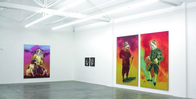 Les oeuvres de Forstner à la Fondation Fernet-Branca