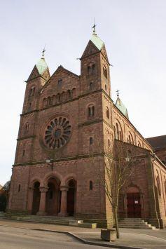 La Basilique du Sacré-Coeur de Lutterbach